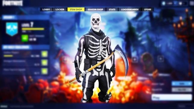 Epic Games pensa al ritorno del costume Skull Trooper