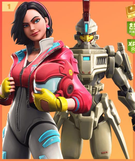 Immagine promozionali dei costumi Rox e Sentinella