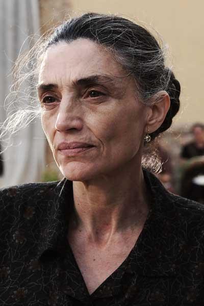 Una scena di Baaria con Angela Molina