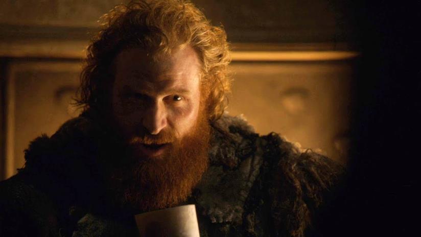 Tormund in un'immagine dal secondo episodio dell'ottava stagione di Game of Thrones