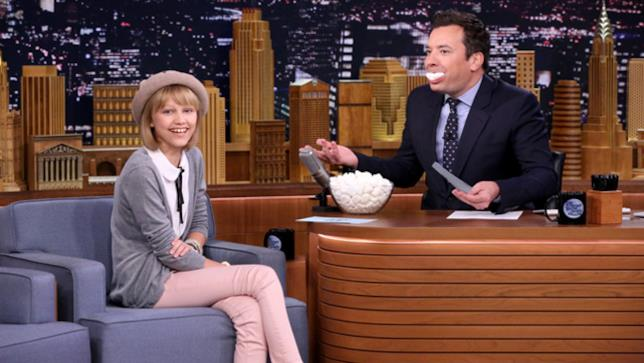 Grace VanderWaal e Jimmy Fallon al The Tonight Show