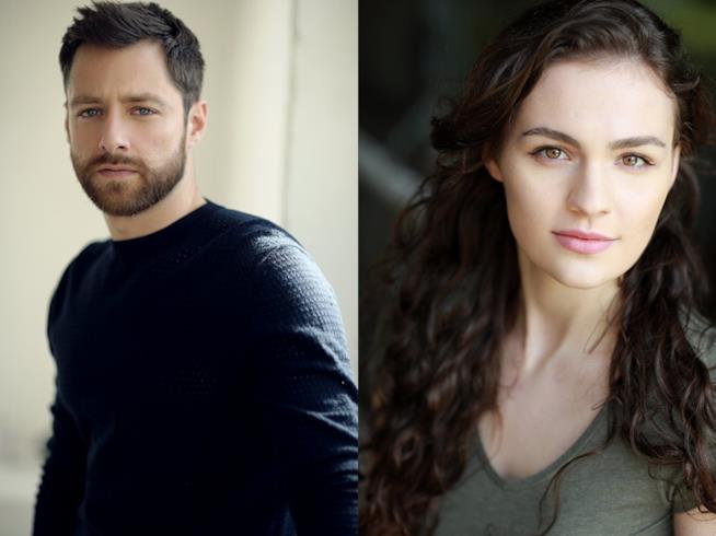 Brianna e Roger di Outlander: gli interpreti