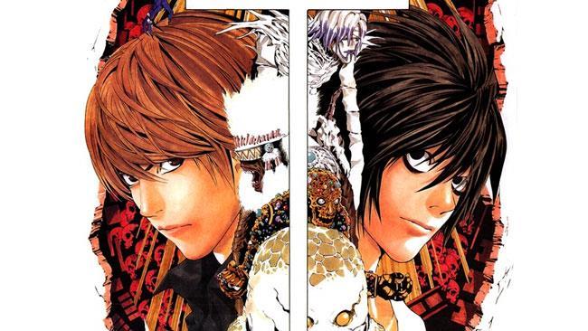Death Note Light e L