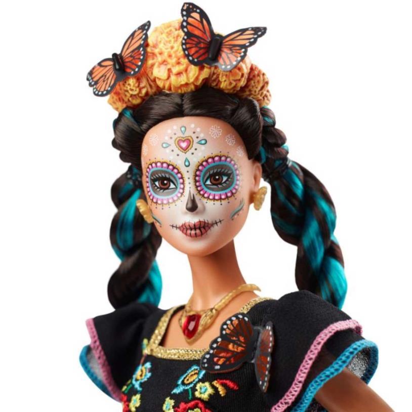 Primo piano della nuova Barbie