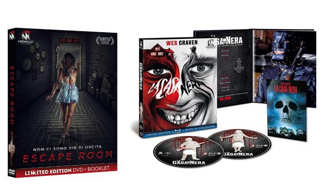 Escape Room e La casa nera - Home Video - DVD e Blu-ray