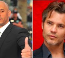 Un collage tra Vin Diesel e Timothy Olyphant