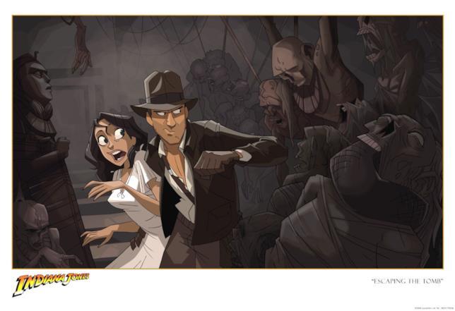 Disegno Indiana Jones