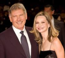 Harrison Ford con la moglie Calista Flockhart