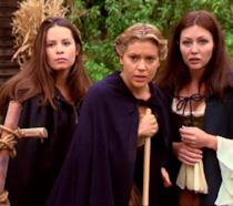 Una scena della serie TV Streghe