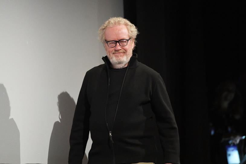 Una mezza figura di Ridley Scott