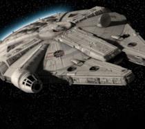Il leggendario Millennium Falcon di Han Solo