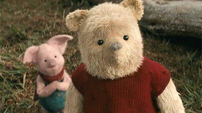 Pimpi e Winnie the Pooh in una scena del film
