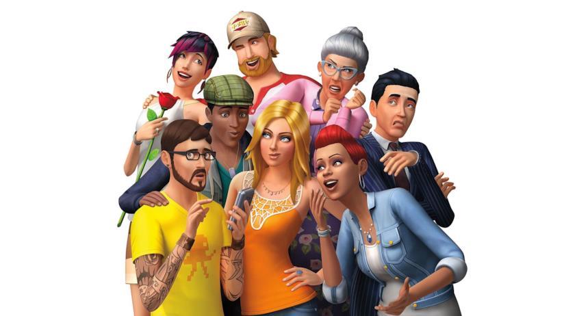 La copertina di The Sims 4