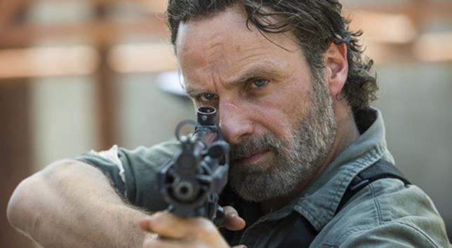 The Walking Dead: Andrew Lincoln nei panni di Rick Grimes