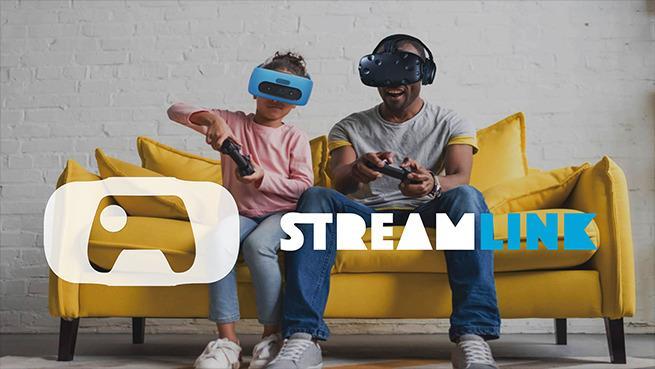 Immagine promozionale per l'app StreamLink di HTC