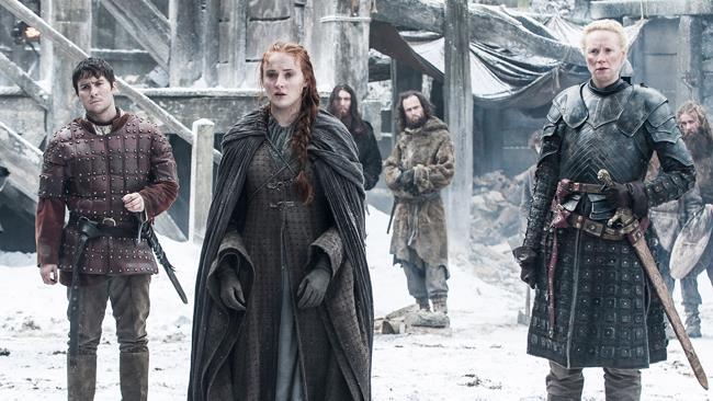 Sansa Stark in una scena della sesta stagione di Game of Thrones