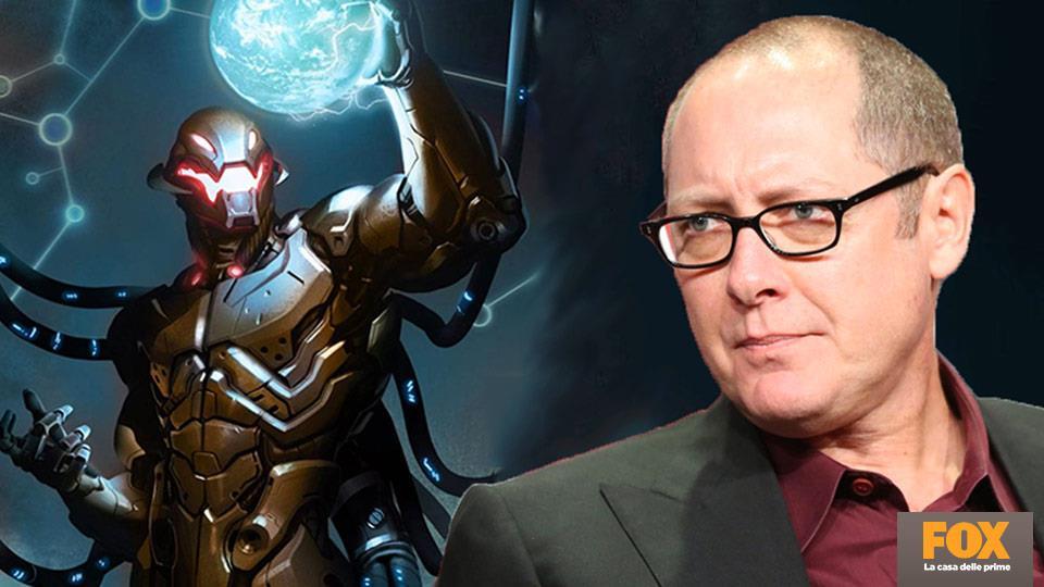 """In inglese, Joss Whedon ha scelto James Spader per doppiare Ultron grazie a """"quella voce calma e ipnotica""""."""