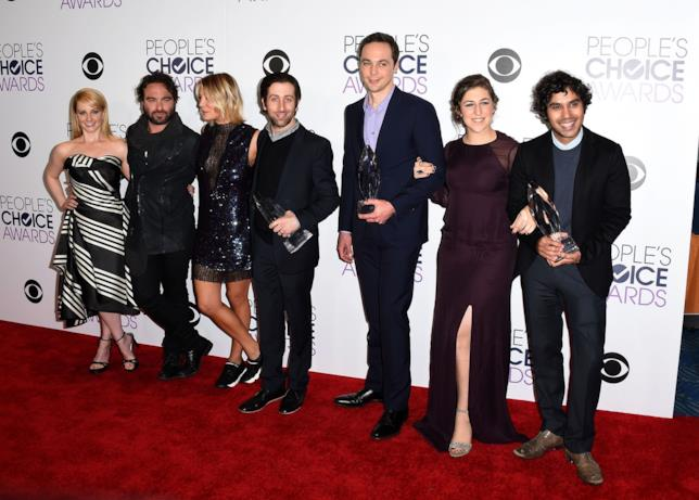 Il cast di The Big Bang Theory ai People's Choice Awards 2017