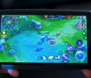Foto dello smartphone da gaming Moqi