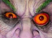 Primo piano del busto di Joker di Rick Baker