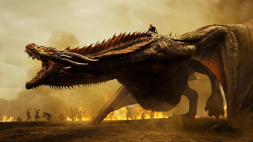 GoT 8: Drogon e Danerys