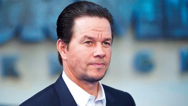 Mark Wahlberg alla prima di Transformers - L'Ultimo Cavaliere