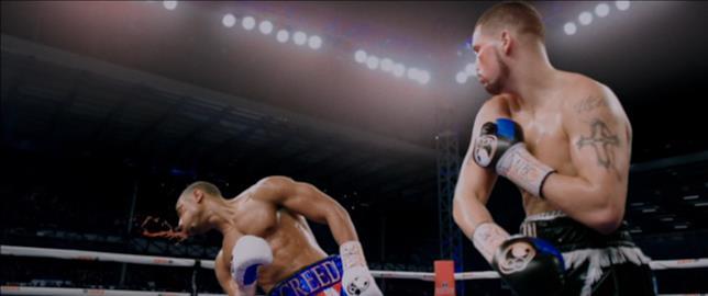 Sul ring si affrontano i due pugili Creed e Conlan