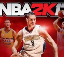 La copertina della versione italiana di NBA 2K17