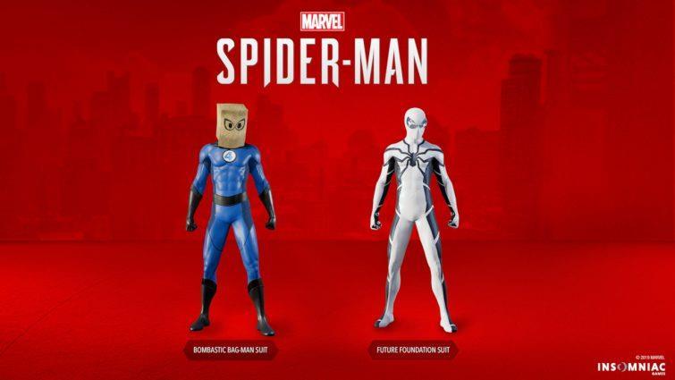 I due nuovi costumi di Marvel's Spider-Man per PS4