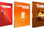 Tre steelbook della Iconic Moments Steelbook