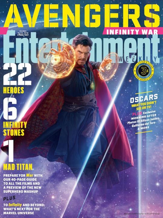 Doctor Strange su una delle variant cover di EW