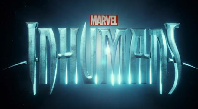 Il logo di Inhumans, la serie TV sulla famiglia reale inumana