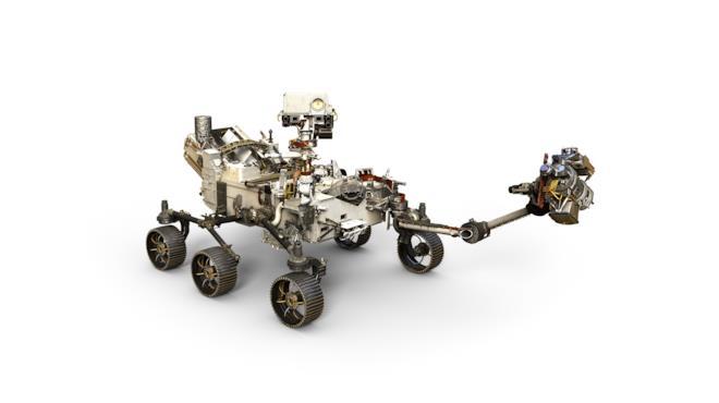 Un'immagine del nuovo rover che prenderà parte alla missione Mars 2020 della NASA