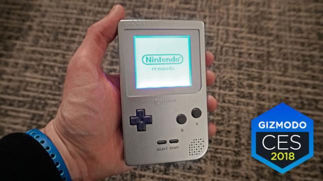 Game Boy Ultra dal CES 2018 di Las Vegas