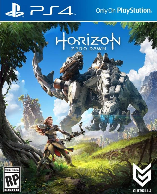 Horizon Zero Dawn è disponibile su PlayStation 4