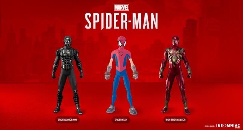 Territori Contesi introduce tre nuove tute in Marvel's Spider-Man