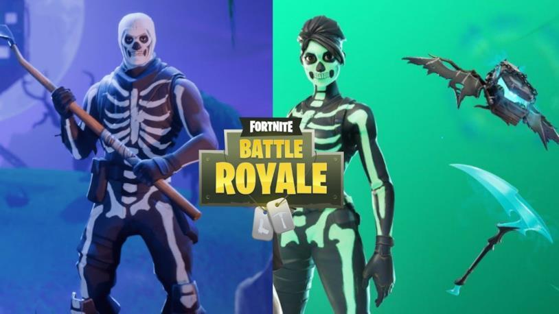Il negozio di Fortnite vende di nuovo la skin Skull Trooper