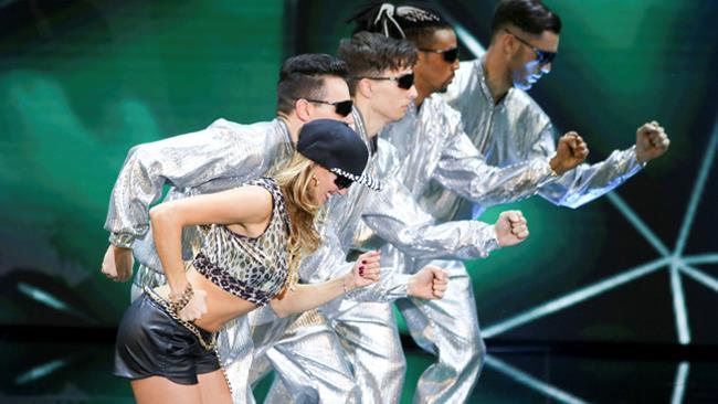Tania Cagnotto, esibizione di Dance Dance Dance