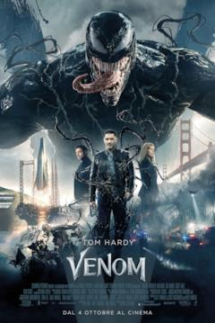 Il secondo poster ufficiale italiano di Venom