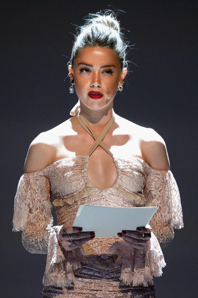 Una recente immagine di Amber Heard