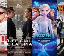 I poster di Le Mans '66, L'ufficiale e la spia, Frozen II, Zombieland - Doppio colpo