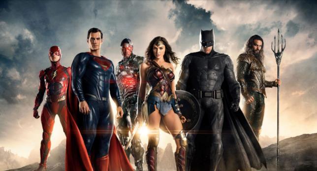 Justice League, il cast