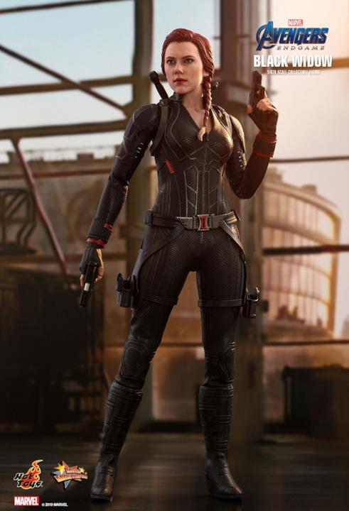 Black Widow di Avengers: Endgame in versione Hot Toys