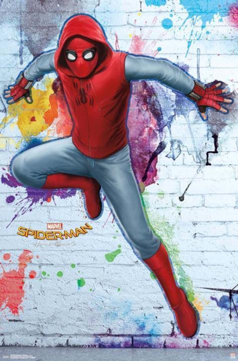 Spider-Man: Homecoming: l'Uomo Ragno indossa la tuta basica creata da Peter Parker