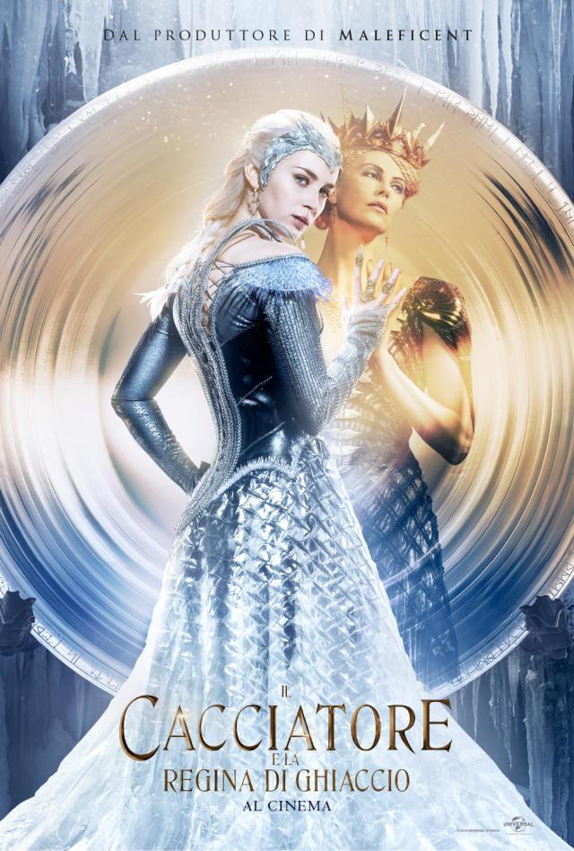 Poster delle regine de Il Cacciatore e la Regina di Ghiaccio