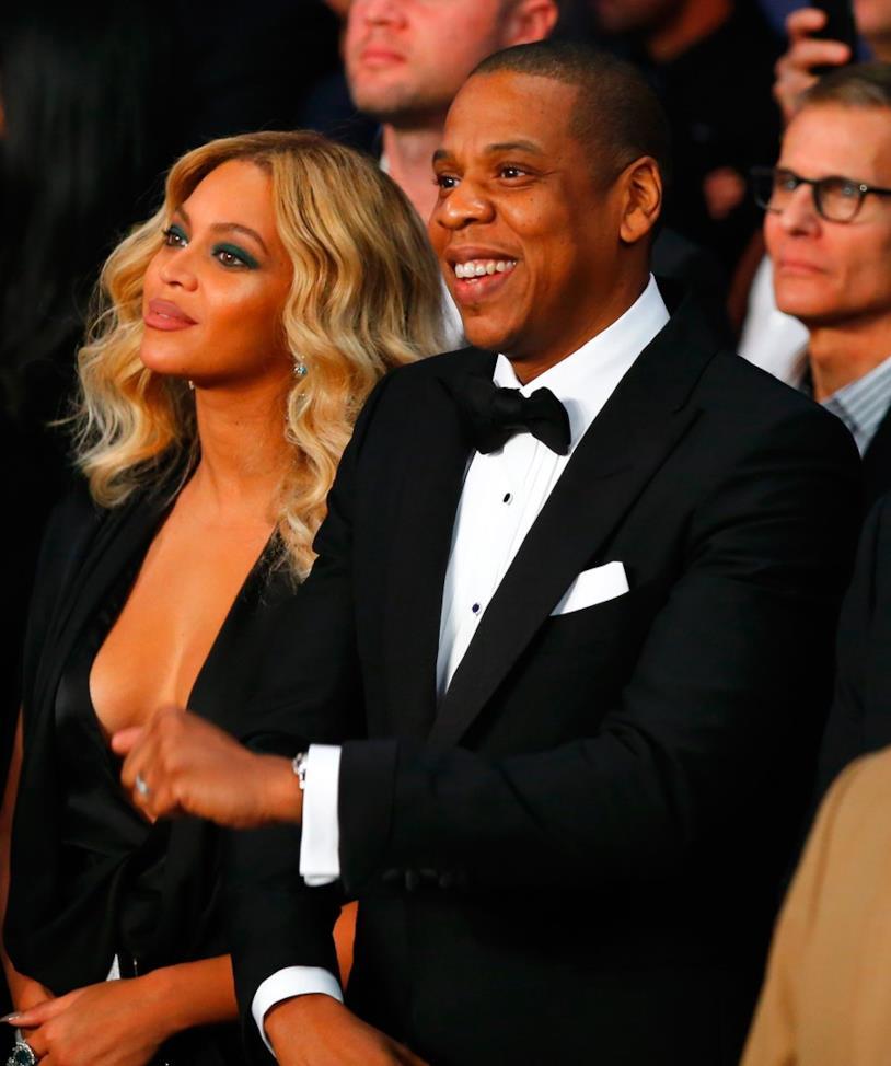 Beyoncé e Jay-Z insieme