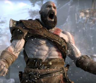Kratos furioso nel nuovo episodio di God of War