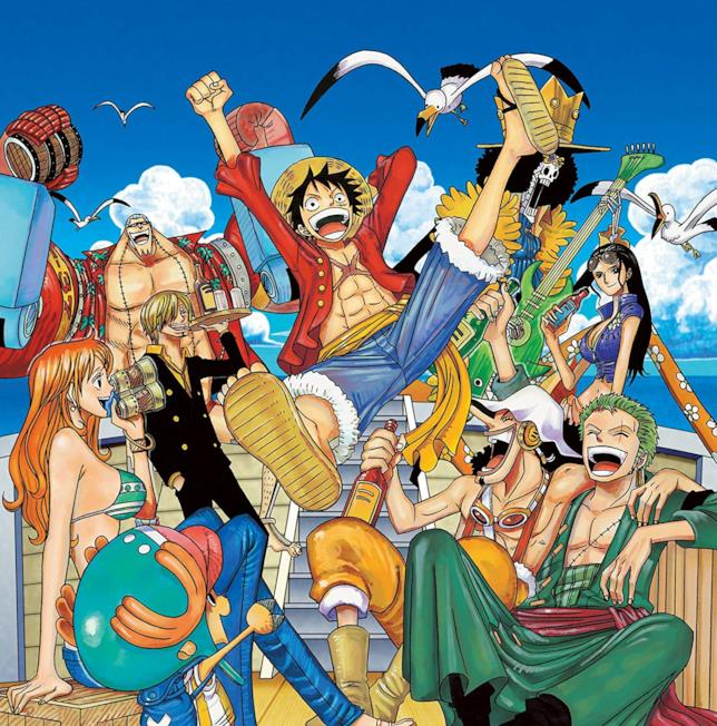 One Piece la ciurma riunita dopo 2 anni