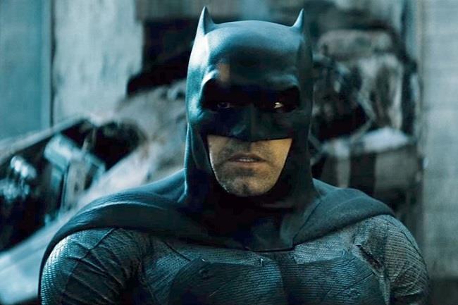 Ben Affleck nel ruolo di Batman