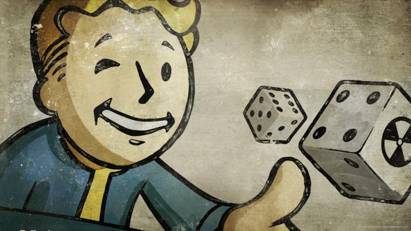 Il Pip-Boy di Fallout lancia dei dadi